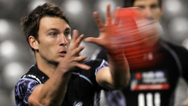Making his mark: Jackson Coleman chose a career in AFL over cricket.