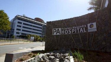 The Princess Alexandra Hospital at Woolloongabba.