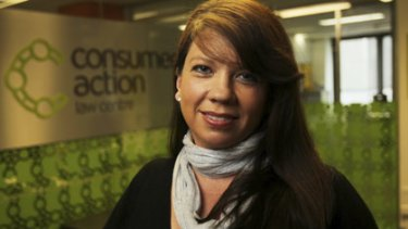 Pressure...Consumer Action Law Centre's Eileen Kerrigan says customers need to be wary of store credit cards and deals.