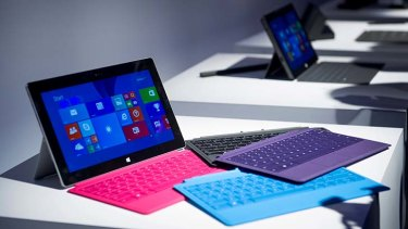 The Microsoft Surface Pro 2 tablet and Type Cover 2.