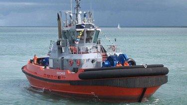 A Tugboat at Port Hedland.