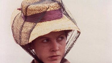 Judy Davis as Sybylla Melvyn in the 1979 screen version of <i>My Brilliant Career</i>.