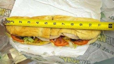 Matt Corby's 11 inch 'footlong' sub.