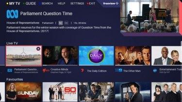 FreeviewPlus' new My TV menu puts more options at your fingertips.