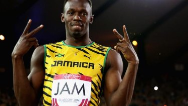 Foul weather is set to put a dampener on Usain Bolt's appearance in the 4x100m relay final.