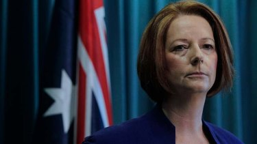 """This plan will lift school standards, not school fees"" ... Prime Minister Julia Gillard."
