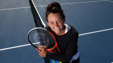 Casey Dellacqua in Sydney during the week.