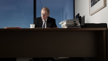 Proper review: David Murray says the financial system has moved on from Wallis.