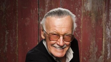 Stan Lee:  It was  watching a fly crawl on the  wall of his studio, that sparked idea for the Amazing Spider-Man.