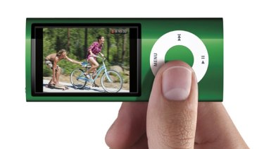 Bigger isn't always better ... the new Apple iPod Nano.