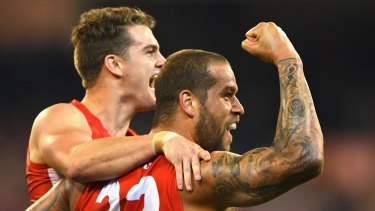 Regeneration, not flags: Sydney Swans coach John Longmire said Lance Franklin was brought to the club to help the team through a transition period.