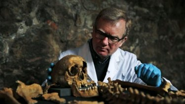 """""""It's fantastic we can look in such detail at an individual who died 600 years ago"""": Don Walker."""