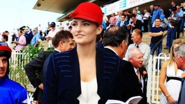 ''Not a model'' … racing ambassador Bridget Abbott.