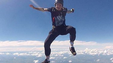 Ash Cosgriff died while BASE jumping.