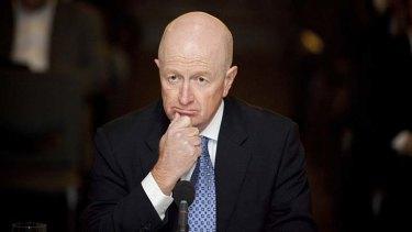Preparing for interest rate cuts ...  Glenn Stevens, Governor of the Reserve Bank of Australia.