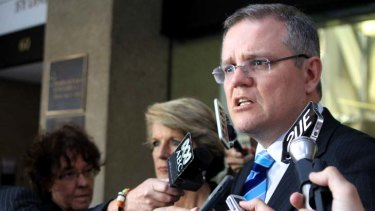 """""""It's ridiculous, absurd. We suggested they reopen a processing facility on Nauru, not the moon"""" ... Scott Morrison."""