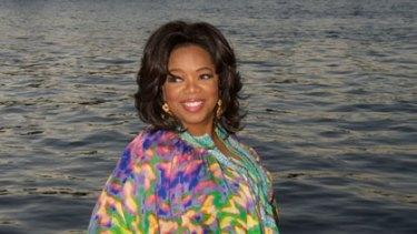 Oprah Winfrey ... her audience is worldwide.