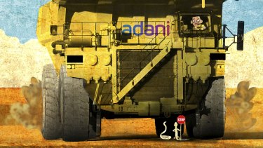 Adani plans to build Australia's largest coal project in the Galilee Basin.