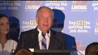 Colin Barnett's reign came to an end.