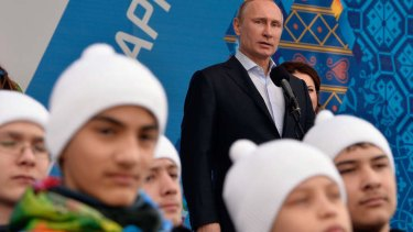 Hardline: Russian President Vladimir Putin.