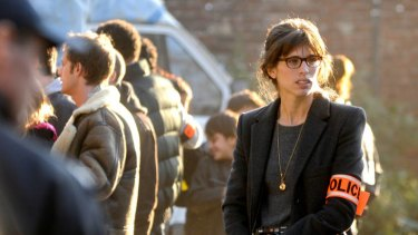 Maiwenn in a scene from <i>Polisse</i>, which has been described as like a season of <i>The Wire</i> packed into a film.