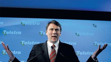 All but one key competitor declined Telstra chief David Thodey's invitation to a private industry get-together.