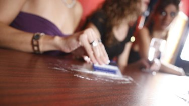Cocaine on the rise in young women.