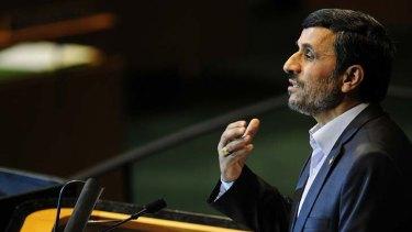 Close ties with South America ... Iran's President Mahmoud Ahmadinejad.