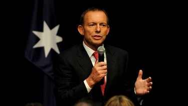 """Tony Abbott says the carbon tax """"could add"""" $84 million to the motor manufacturing industry."""