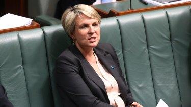 Acting Labor leader Tanya Plibersek.