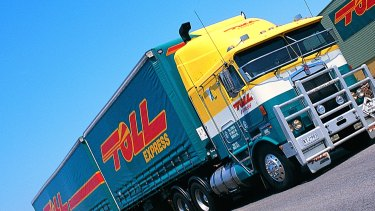 Toll's traditional business model of moving consumer goods between stores and warehouses by road and air has been challenged by the emergence of online shopping.