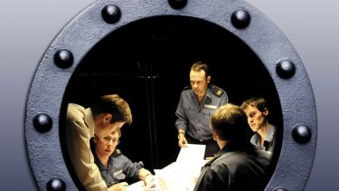 Immersive has a double meaning ... the audience can move around the submarine and watch the play from different viewpoints.