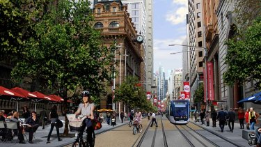 """""""It is our considered view that a light rail down George St does not work remotely well as a mass transit activity"""" ... Nick Grenier of Infrastructure NSW."""