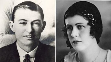 Murder on the menu...Jim Smith (left), the boxer whose arm was regurgitated by a shark in 1935, (right) missing Linda Agostini.