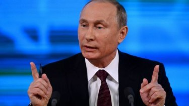 """""""We should respect every period of our history"""": Vladimir Putin."""
