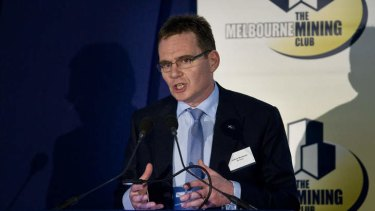 Looking to drive emissions reductions: BHP Billiton boss Andrew MacKenzie.