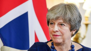 UK Prime Minister Theresa May had previously said the UK would leave on Brexit Day but, instead, two transition years will follow.