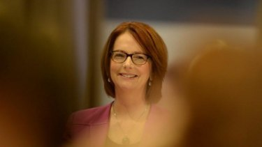 "Former prime minister Julia Gillard: ""My first strategy was to ignore it [sexism], but as time went on, increasingly I thought it was better to name it."""