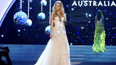 Perth model Renae Ayris placed fourth in the 2012 Miss Universe final in Las Vegas