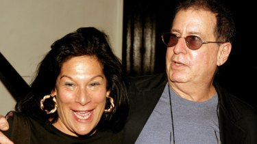 Former Ramones manager, Linda Stein, and producer Danny Fields (right) in 2004.
