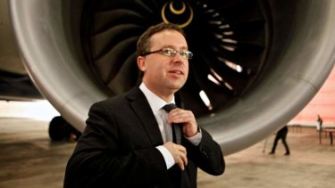 Qantas chief executive Alan Joyce has failed to outline full details of a wider strategic review of the airline.
