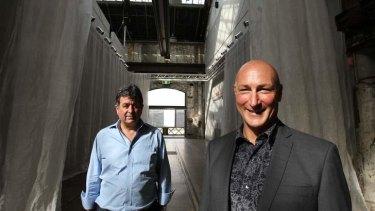 Tim Etchells, founder of Art Fairs Australia and Barry Keldoulis, CEO Sydney Contemporary Art Fair.