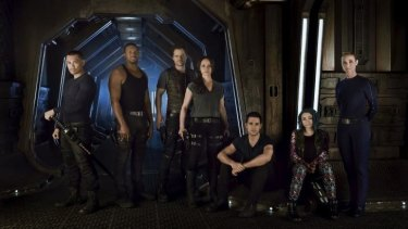 <i>Dark Matter</i> explores the story of six characters who wake up on a spacecraft with no memory of their past.