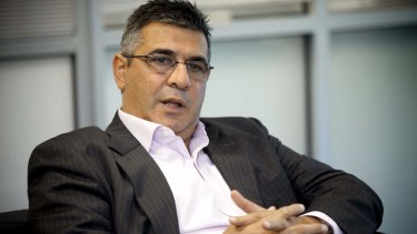 Andrew Demetriou: 'We are unashamedly an indigenous code.'