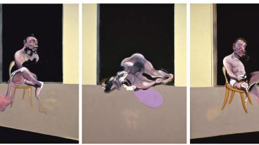 "Dark matter … Bacon depicted Dyer's death in works including ""Triptych, August 1972""."