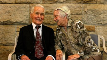Australian centenarians  ... Francis Ward and Ruth Richards.
