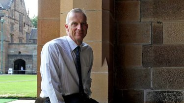 Philanthropy helps address recent federal government cuts: Sydney University vice chancellor Michael Spence.