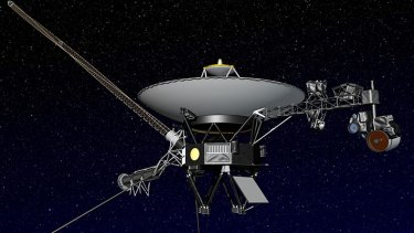 Voyager 1 is the first spacecraft to enter interstellar space, or the space between stars, more than three decades after launching from Earth.