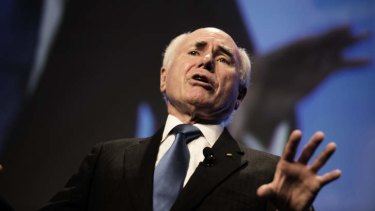 Former Prime Minister John Howard told the Global Warming Policy Foundation, a group of UK climate change sceptics, a global agreement on climate change action is unlikely.