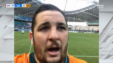 Connal McInerney reflects on his first Test match with Stan Sport